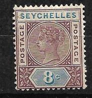 Seychelles       UK   N°  3 Neuf  *         B /TB Voir Scans Soldé Le Moins Cher Du Site  ! ! ! - Seychelles (...-1976)