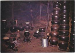Gf. GAOUA. En Pays Lobi. La Cuisine - Burkina Faso