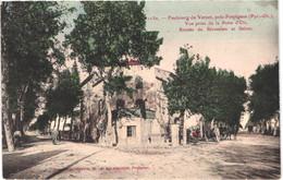 FR66 PERPIGNAN - Brun 1130 - Colorisée - Faubourg Du Vernet - Vue Prise De La Patte D'oie- Route De Riv - Animée - Belle - Perpignan
