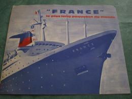"""""""FRANCE"""" Le Plus Long Paquebot Du Monde - Boats"""