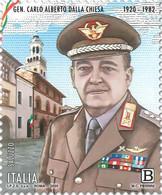 Italia - 2020 - Usato/used - Carlo Alberto Dalla Chiesa - 2011-...: Oblitérés