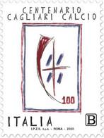 Italia - 2020 - Usato/used - Cagliari Calcio - 2011-...: Oblitérés