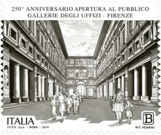 Italia - 2019 - Usato/used - Gallerie Degli Uffizi - 2011-...: Oblitérés