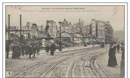Cpa  59 Lille * Le Quartier De La Gare Détruit En 1914 , Ww1 , écrite - Lille