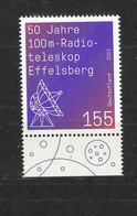 Deutschland BRD  **  3599 Radio Teleskop Effelsberg   Neuausgabe 1.4.2021 - Nuovi