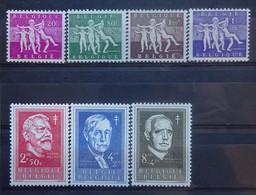 BELGIE  1955    Nr. 979 - 985 (2)   Postfris **    CW  70,00 - Ongebruikt