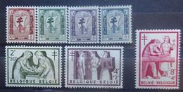 BELGIE  1956     Nr. 998 - 1004     Postfris **    CW  34,00 - Ongebruikt