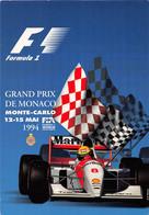 ¤¤  -   MONACO  -  Lot De 2 Cartes Du Grand Prix De Formule 1  -  Affiche 1994      -  ¤¤ - Collections & Lots