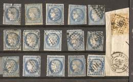 France - Cérès - Petit Lot De 16° - Lots & Kiloware (mixtures) - Max. 999 Stamps
