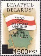 Belarus 1994, Mi. 49-50 II ** - Bielorrusia