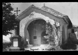 Carte Photo SEGURET - La Chapelle - Non Circulée - Otros Municipios