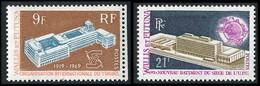 WALLIS ET FUTUNA 1969-70 - Yv. 175 Et 176 **   Cote= 9,00 EUR - OIT Et UPU (2 Val.)  ..Réf.W&F23210 - Nuovi