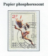 COB 1660 P3  Papier Phosphorescent  Used - Gebraucht