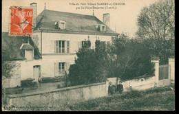 CPA Villa Du Petit Village St-REMY-s/CREUSE Par La Haye-Descartes -  Circulée - Animée - Otros Municipios