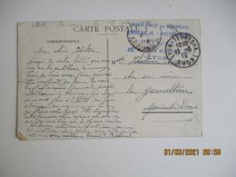 Ambulance Du Barreau Annes Hotel Dieu  Lyon    Cachet Franchise Postale Guerre 14.18 - 1. Weltkrieg 1914-1918