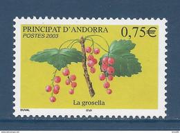 ⭐ Andorre Français - YT N° 585 - Neuf Sans Charnière - 2003 ⭐ - Neufs