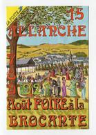 C.P °_ Salon.Foire à La Brocante-15-Allanche-16ème édition 1993 ° NEUVE - Beursen Voor Verzamellars