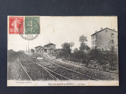 BELLEGARDE -en-FOREZ - La Gare - CACHET De BELLEGARDE  En FOREZ - Otros Municipios
