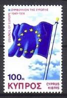 ZYPERN MI-NR. 424 POSTFRISCH(MINT) MITLÄUFER 1975 EUROPARAT - Ideas Europeas