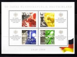DEUTSCHLAND BLOCK 49 POSTFRISCH(MINT) 50 JAHRE BUNDESREPUBLIK DEUTSCHLAND - Blocks & Kleinbögen