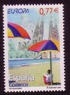 SPANIEN MI-NR. 3951 POSTFRISCH(MINT) EUROPA 2004 - FERIEN STRAND SONNENSCHIRME - 2004