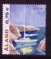 ALAND MI-NR. 235 POSTFRISCH(MINT) EUROPA 2004 FERIEN SEGELBOOT - 2004