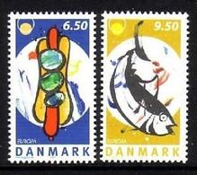 DÄNEMARK MI-NR. 1405-1406 POSTFRISCH(MINT) EUROPA 2005 - GASTRONOMIE - 2005