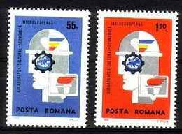 RUMÄNIEN MI-NR. 2764-2765 POSTFRISCH(MINT) MITLÄUFER 1969 - INTEREUROPA - Ideas Europeas