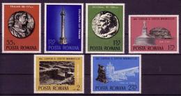 RUMÄNIEN MI-NR. 3267-3272 POSTFRISCH(MINT) MITLÄUFER 1975 - EUROPÄISCHES DENKMALSCHUTZJAHR - Ideas Europeas