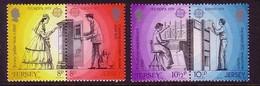 JERSEY MI-NR. 192-195 A POSTFRISCH EUROPA 1979 POST- Und FERNMELDEWESEN - 1979