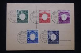 POLOGNE - Affranchissement De Krakau En 1943 Sur Carte Postale - L 93590 - Gobierno General