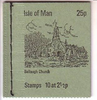 ISLE OF MAN MH 0-2 (1) POSTFRISCH(MINT) BALLAUGH CHURCH - Isla De Man