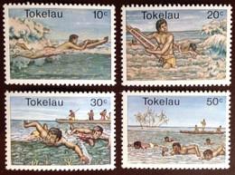 Tokelau 1980 Swimming Sports MNH - Tokelau