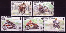 INSEL MAN MI-NR. 468-472 POSTFRISCH(MINT) TOURIST TROPHY BERGKURS - Isle Of Man