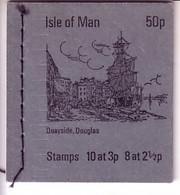 ISLE OF MAN MH 0-4 (2) POSTFRISCH(MINT) QUAYSIDE, DOUGLAS - Isla De Man