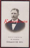 Edouard De Win Zemst Sempst 1928 Bidprentje Met Foto Photo Doodsprentje Image Mortuaire - Devotion Images