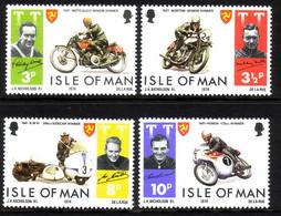 ISLE OF MAN MI-NR. 40-43 POSTFRISCH(MINT) TOURIST TROPHY 1974 MOTORRADRENNEN - Isle Of Man