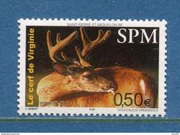 ⭐ Saint Pierre Et Miquelon - YT N° 799 ** - Neuf Sans Charnière - 2003 ⭐ - Ongebruikt