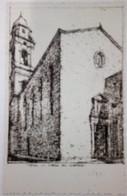 SIENA - LA CHIESA DEL CARMINE - DISEGNATA - ORATORIO DELLA CONTRADA DELLA PANTERA - 1935 - Siena