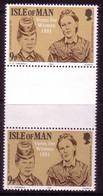 ISLE OF MAN MI-NR. 193 POSTFRISCH(MINT) 100 JAHRE FRAUENWAHLRECHT 1981 ZWISCHENSTEGPAAR - Isla De Man