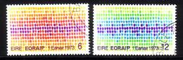IRLAND MI-NR. 287-288 O MITLÄUFER 1973 - BEITRITT IRLANDS ZUR EG - Ideas Europeas
