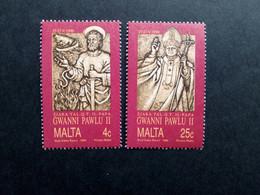 MALTA MI-NR. 841-842 POSTFRISCH(MINT) BESUCH VON PAPST JOHANNES PAUL II. 1990 - Malta