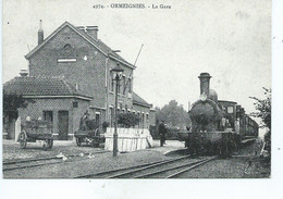 Ormeignies Gare ( Editions Les Amis D'Angélique De Rouillé ASBL ) Repro - Ath