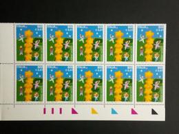 ITALIEN MI-NR. 2702 POSTFRISCH(MINT) 10er EINHEIT EUROPA 2000 STERNE - 2000