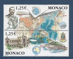 ⭐ Monaco - YT N° 2391 Et 2392 - Neuf Sans Charnière - 2003 ⭐ - Unused Stamps