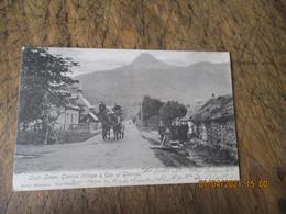 1905 Ecosse Scothland  Loch Leven Glencoe Village Et Gap Of Clencoe Attelage - Sonstige