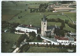 Pottes Vue Aérienne Centre Et Eglise - Ath