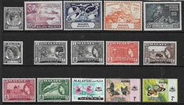 MALAYA - MALACCA 1949 - 1971 MOUNTED MINT/UNMOUNTED MINT COLLECTION INCLUDING 1949 UPU SET Cat £11 - Malacca