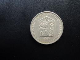 TCHÉCOSLOVAQUIE : 2 KORUNA  1975    KM 75  *      TTB - Czechoslovakia