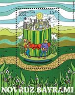 NOVRUZ HOLIDAY 2021. Azerbaijan Stamps 2021. Azermarka - Azerbaïdjan